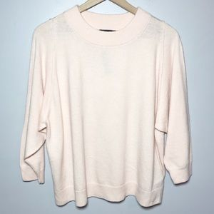 NWT J Crew Dolman Sweater with Rib Trim